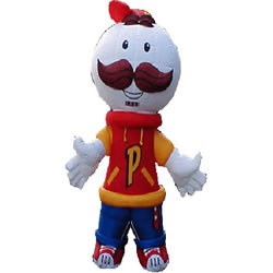 Mascot Ad Inflatable Moving Cartoon