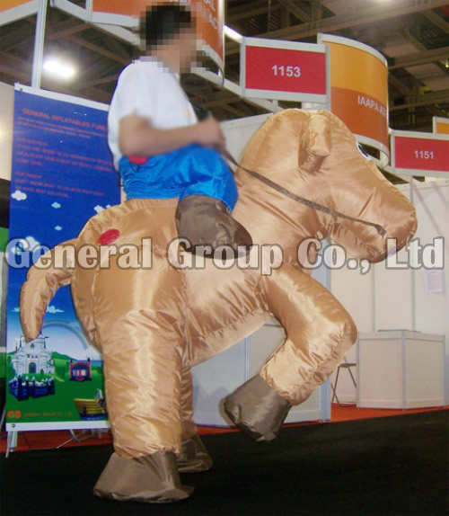 Gallop Horse Inflatable Moving Cartoon