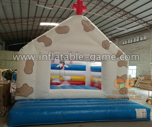 Inflatable Church Bouncer