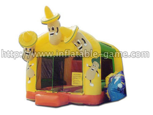 Inflatable Jumpin Bean Bouncer