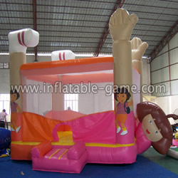 Inflatable Dora Bouncer