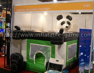 Panda Combo Inflatables for sale