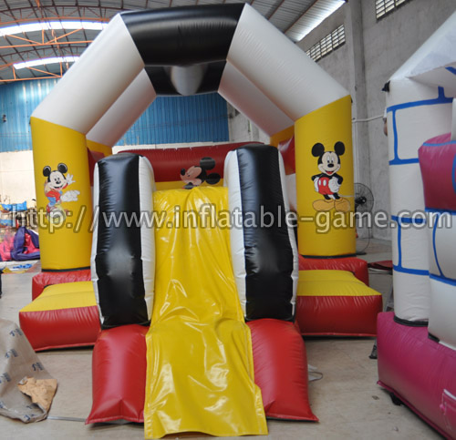 Themed bounce slide