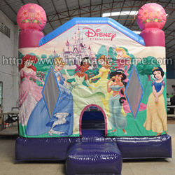 GB-270 Inflatable princess bounce house