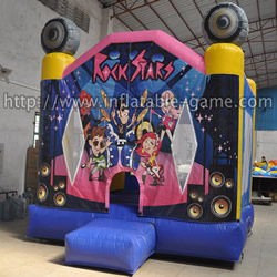 GB-279 Rock star bounce house
