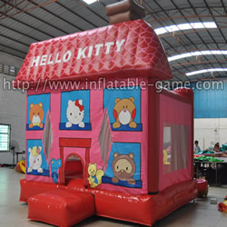 GB-283 Hello kitty bounce houses