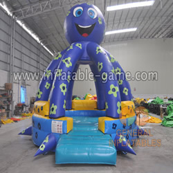 GB-402 Octopus bounce house