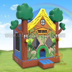 GB-409 Tree house jumping castle