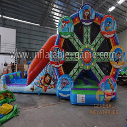 GB-410 Circus inflatable combo