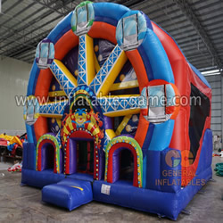 GB-411 Circus inflatable combo