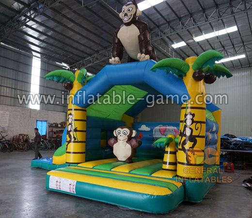 Jungle inflatable combo
