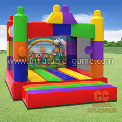 GB-437 Building blocks bounce house