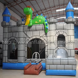 Dino castle combos inflatable castles