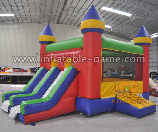 Inflatable barbie bouncer castles
