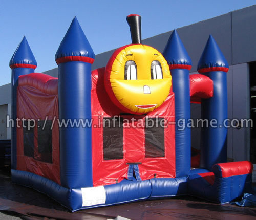 Inflatable 5 in 1 Train Combo