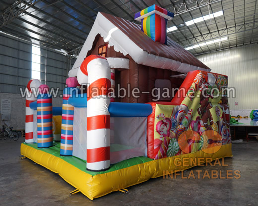 GF-133 Chocolate bounce house
