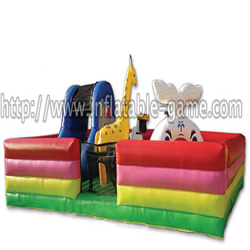 Happy Zoo Inflatable Funland