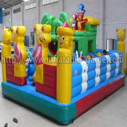 Happy Mice Inflatable Funland