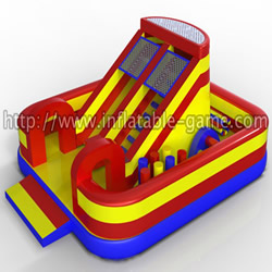 Inflatable sport funland
