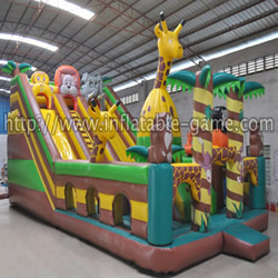 Inflatable Jungle funland for sale