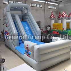 GS-187 Superman water slide