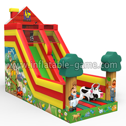 GS-206 Inflatable farm slide