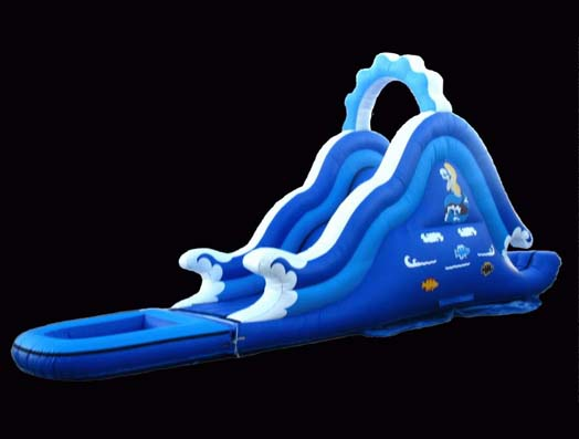 Inflatable Wave slides