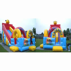 Inflatable bear slides on sale