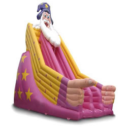 Christmas inflatable slides