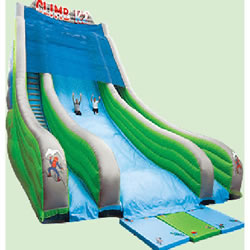 lager inflatable slides