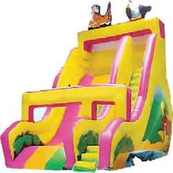 GS-52 Inflatable zoo slide