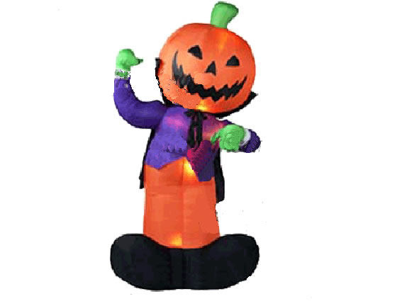 Pumpkin Gentleman Inflatable Cartoon