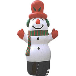 Inflatable Xmas Snowman