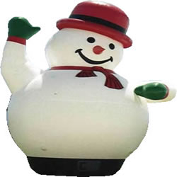 GX-5 inflatable snowman