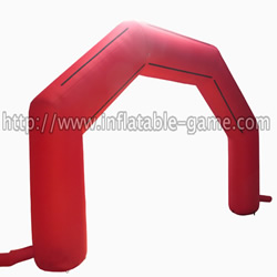 GA-3 Red inflatable arch
