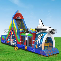 GO-122 Space obstacle course