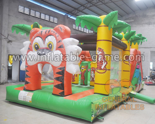 Tiger bounce with obstacle