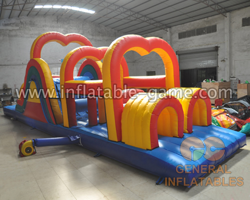 Heart obstacle course