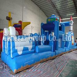 GO-21 inflatable obstacle course