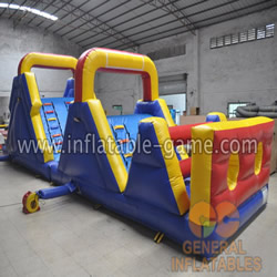 inflatable obstacle course sale