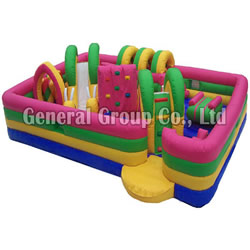 Inflatable Kids Zone Obstacle