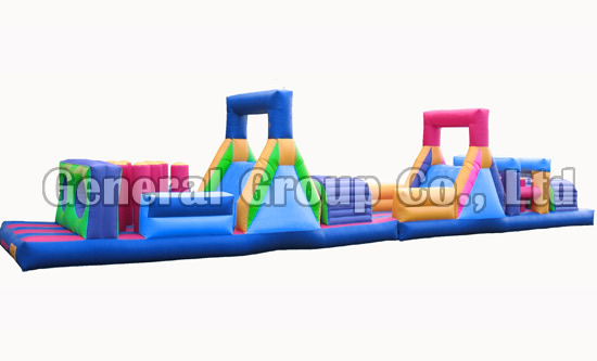 64ftl Inflatable obstacle land