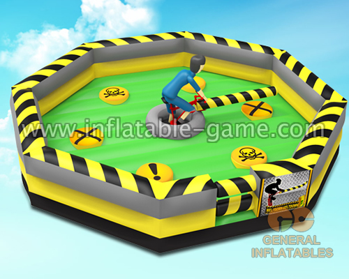 Inflatable Sweeper Game