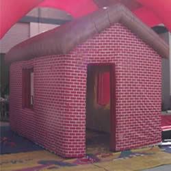 Inflatable Red House Tent