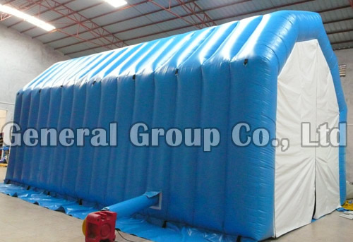 Inflatable V Roof House Tent