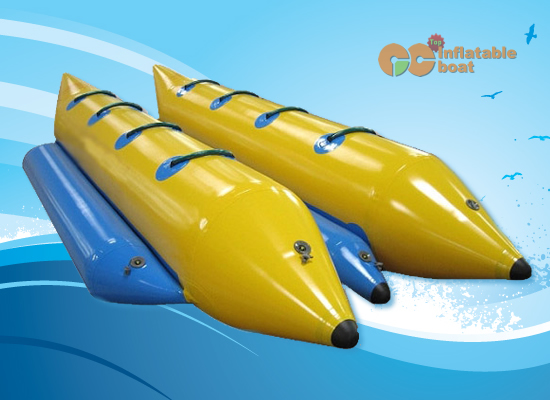 double pontoon banana boats