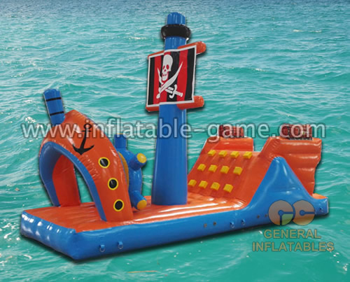 Pirate ship water game