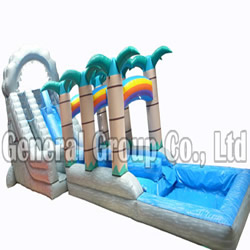 GW-67 Inflatable Water Slide
