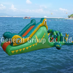 GW-72 Alligator Water Obstacle Slide