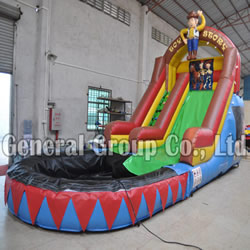 Toy story water slide